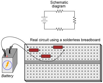 Hobby photo resistor circuits