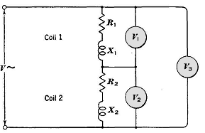 how to find resistance of coil in series circuit