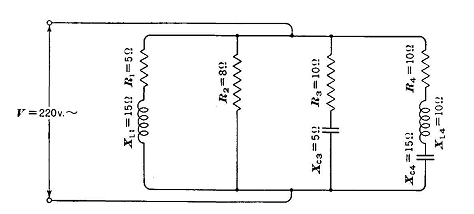 Parallel Circuits With Resistance, Inductance, and Capacitance